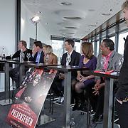 Maritte Braspenning, Wilfred Genee, Sacha de Boer, Matthijs van Nieuwkerk, Jan Mulder, Astrid Kerssenboom, Prem Radhakishun, Rick Nieman, Twan Huys