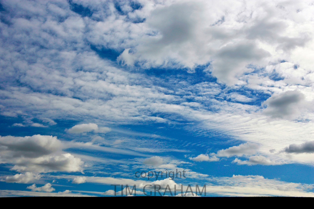 Cirrus clouds, Nottinghamshire, United Kingdom