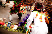 Indigenous dance at the Zocolo