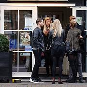 NLD/Laren/20151220 - Romee Strijd met vrienden en haar partner Laurens van Leeuwen,                                                                Victoria Secret model Romee Strijd in her home country the Netherlands for the holidays with her partner Laurens van Leeuwen,