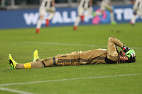 Torino - 10.03.2017 - Serie A 28a giornata  -  Juventus-Milan   - nella foto:  la disperazione di Gianluigi Donnarumma a fine partita