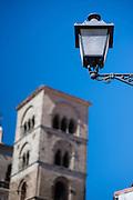 Medieval tower in Trujillo (Spain)