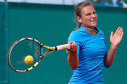 Dorota Szczygielska from Poland competes during tennis tournament Tomaszewski Cup 2013 at Legia's courts in Warsaw.<br /> <br /> Poland, Warsaw, September 03, 2013<br /> <br /> Picture also available in RAW (NEF) or TIFF format on special request.<br /> <br /> For editorial use only. Any commercial or promotional use requires permission.<br /> <br /> Photo by &copy; Adam Nurkiewicz / Mediasport