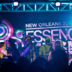 NEW ORLEANS, LOUISIANA - JULY 3: George Clinton & Parliament Funk perform in the McDonald's Superlounge during the 2011 Essence Music Festival Day 3 at the Louisiana Superdome on July 3, 2011 in New Orleans, Louisiana. (Photo by Derick E. Hingle)