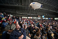 KELOWNA, CANADA - JANUARY 11:   Tri City Americans at the Kelowna Rockets on January 11, 2013 at Prospera Place in Kelowna, British Columbia, Canada (Photo by Marissa Baecker/Shoot the Breeze) *** Local Caption ***