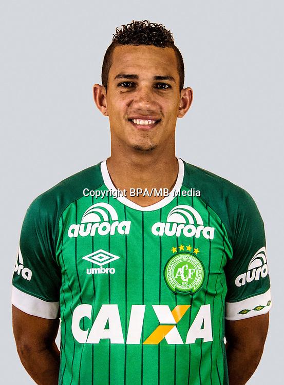 Brazilian Football League Serie A / <br /> ( Associacao Chapecoense de Futebol ) - <br /> Lucas Gomes da Silva &quot; Lucas Gomes &quot;