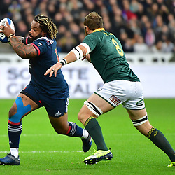 (L-R) Mathieu Bastareaud of France and Duane Vermeulen of South Africa during the test match between France and South Africa at Stade de France on November 18, 2017 in Paris, France. (Photo by Dave Winter/Icon Sport)