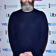 Francis Lee attends The Writers' Guild Awards at Royal College of Physicians on 15th January 2018.