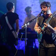 Yannis Philippakis of Foals performs at the Lincoln Theatre in Washington, D.C.