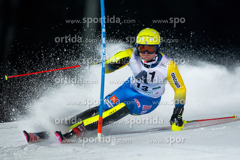 Mattias Hargin (SWE) during the 7th Mens' Slalom of Audi FIS Ski World Cup 2016/17, on January 24, 2017 at the Planai in Schladming, Austria. Photo by Martin Metelko / Sportida