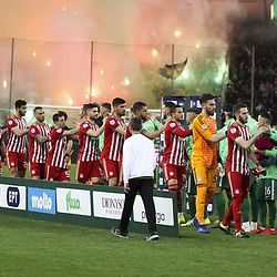 Illustration during the SuperLeague match between Panathinaikos and Olympiakos on 17th March 2019<br /> Photo : Icon Sport