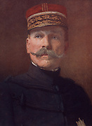 General Auguste Dubail (1851-1934) French Army officer.  During the First World War, after the French failure at Verdun in 1916, Dubail was relieved of his command in the field and appointed Military Governor of Paris.