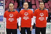 DESCRIZIONE : Biella Lega A 2012-13 Angelico Biella Umana Reyer Venezia<br /> GIOCATORE : Arbitri Seghetti Dino Aronne Emanuele Sardella gianluca<br /> CATEGORIA : Ritratto<br /> SQUADRA : Arbitri<br /> EVENTO : Campionato Lega A 2012-2013 <br /> GARA : Angelico Biella Umana Reyer Venezia<br /> DATA : 25/11/2012<br /> SPORT : Pallacanestro <br /> AUTORE : Agenzia Ciamillo-Castoria/S.Ceretti<br /> Galleria : Lega Basket A 2012-2013  <br /> Fotonotizia : Biella Lega A 2012-13 Angelico Biella Umana Reyer Venezia<br /> Predefinita :