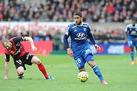 Fotball<br /> Frankrike<br /> Foto: Panoramic/Digitalsport<br /> NORWAY ONLY<br /> <br /> Nabil Fekir (Lyon)<br /> Lionel Mathis (Guingamp)