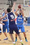ATENE 28/08/2013<br /> AKROPOLIS CUP  ITALIA-BOSNIA <br /> NELLA FOTO MARCO BELINELLI<br /> FOTO CIAMILLO