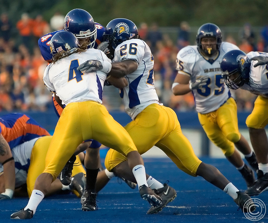 10-15-05- Boise, ID. Boise State vs.San Jose State State in football in Bronco Stadium.