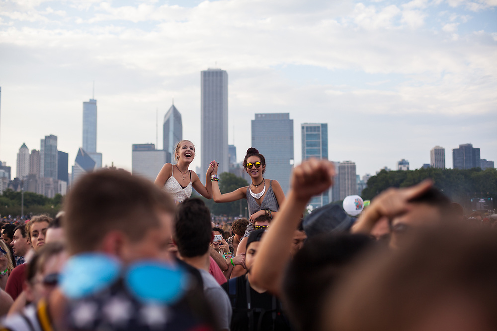 07.29.16 - Chicago, Illinois - Nelson and Will go to the 25th Lollapalooza in Grant Park. We saw Saint Motel, MØ, the Foals, M83 and Radiohead.