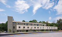 Architectural Image of Leola Dorsey Community Resource Center in Jessup Maryland by Jeffrey Sauers of Commercial Photographics, Architectural Photo Artistry in Washington DC, Virginia to Florida and PA to New England