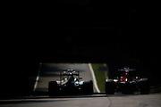 September 3, 2016: Romain Grosjean (FRA), Haas , Carlos Sainz Jr. Scuderia Toro Rosso , Italian Grand Prix at Monza