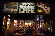 8-12-10 --- Exterior view of AllGood Cafe.