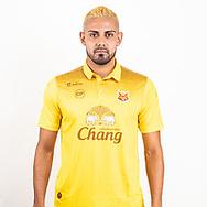 THAILAND - JUNE 29: Irvin Enrique Herrera Baires #9 of Sukhothai FC on June 29, 2019.<br /> .<br /> .<br /> .<br /> (Photo by: Naratip Golf Srisupab/SEALs Sports Images/MB Media Solutions)