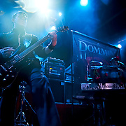 Dommin performing at The House of Blues in Los Angeles California USA on July 22 2009