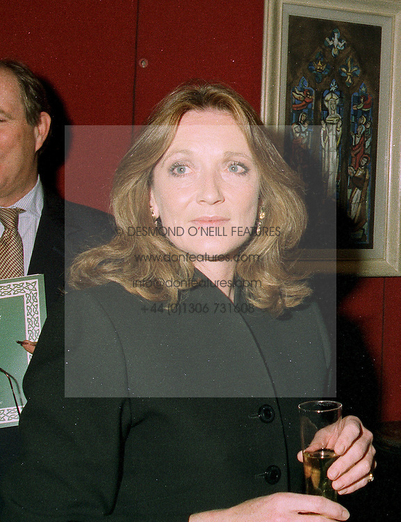 LEONORA, COUNTESS OF LICHFIELD at a reception in London on 22nd May 1997.LYM 18 WO