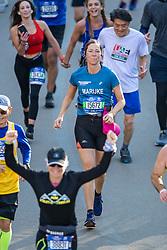 04-11-2018 USA: 2018 TCS NYC Marathon, New York<br /> Race day  TCS New York City Marathon / Marijke