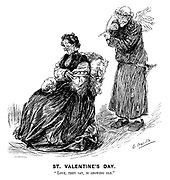 "St Valentine's Day. ""Love, they say, is growing old."""