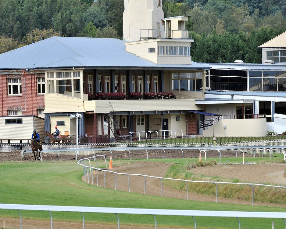 Race course, Wingatui, Dunedin, New Zealand, Friday, Febrary 13, 2009.  Credit:SNPA / Ross Setford