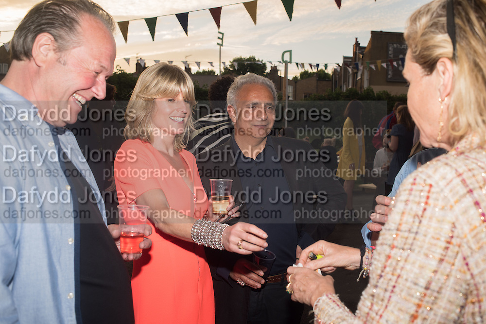 RACHEL JOHNSON; HANIF KUREISHI, Rachel Johnson book launch of Fresh Hell, Acklam Village Market, Acklam Rd. London W10.