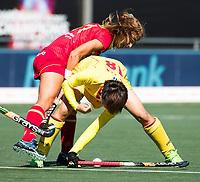 BREDA -  /C18/  tijdens Spanje-China bij de 4 Nations Trophy dames 2018 .  COPYRIGHT  KOEN SUYK