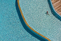 Overview, Swimming pool, Nouvata Park Hotel, Noumea, Grand Terre, New Caledonia