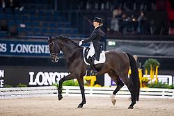 Barbancon Mestre Morgan, ESP, Sir Donnerhall II Old<br /> Stuttgart - German Masters 2018<br /> © Hippo Foto - Stefan Lafrentz