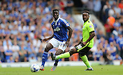 Ipswich Town defender Josh Emmanuel in action during the Sky Bet Championship match between Ipswich Town and Brighton and Hove Albion at Portman Road, Ipswich, England on 29 August 2015.