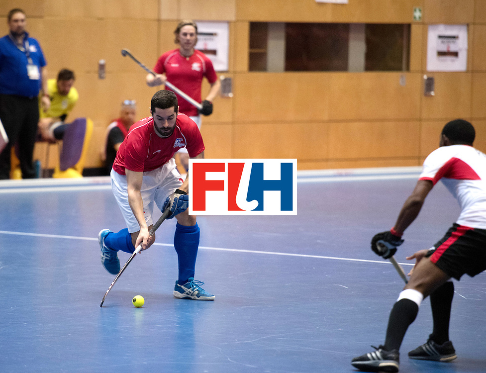 BERLIN - Indoor Hockey World Cup<br /> Czech Republic - Trinidad &amp; Tobago<br /> foto: VACEK David<br /> WORLDSPORTPICS COPYRIGHT FRANK UIJLENBROEK