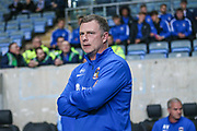 Coventry City manager Mark Robins  during the EFL Sky Bet League 2 match between Coventry City and Forest Green Rovers at the Ricoh Arena, Coventry, England on 17 October 2017. Photo by Shane Healey.