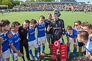 Eindhoven - Oranje Rood - Kampong  Heren, Hoofdklasse Hockey Heren, Seizoen 2017-2018, 05-05-2018, Halve Finale Playoffs, Oranje Rood - Kampong 1-1, Kampong wns, heren Kampong<br /> <br /> (c) Willem Vernes Fotografie