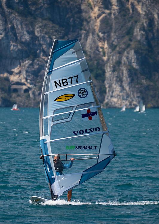 Italy - Garda lake - Windsurfer