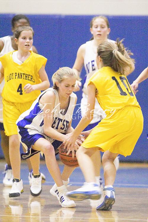 8th Grade Girls Basketball..vs Rappahannock..Second Period..December 9, 2004