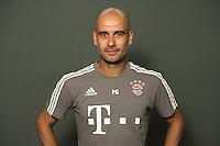 German Soccer Bundesliga 2015/16 - Photocall of FC Bayern Munich on 16 July 2015 in Munich, Germany: coach Pep Guardiola