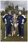 London Irish Premier Rugby Camp at BlueCoats School. 15-02-2006 - Pics with Players