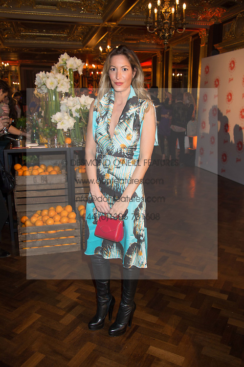 LAURA PRADELSKA at the Cointreau Creative Crew Launch at the Cafe Royal, Regent's Street, London on 27th October 2015.