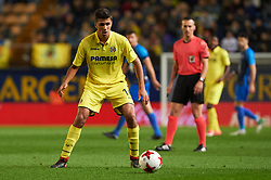 November 30, 2017 - Vila-Real, Castellon, Spain - Rodrigo Hernandez of Villarreal CF during the Copa del Rey, Round of 32, Second Leg match between Villarreal CF and SD Ponferradina at Estadio de la Ceramica on november 30, 2017 in Vila-real, Spain. (Credit Image: © Maria Jose Segovia/NurPhoto via ZUMA Press)