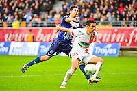 Gaetan BELAUD / Thomas AYASSE - 10.01.2014 - Troyes / Brest - 19e journee Ligue 2<br /> Photo : Dave Winter / Icon Sport