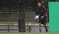20120110: SAO PAULO, BRAZIL - Player Andre Ooijer from Ajax team during training session at Football Academy in Barra Funda, SP, before match against Palmeiras<br /> PHOTO: CITYFILES