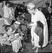 12/06/1961<br /> 06/12/1961<br /> 12 June 1961<br /> Royal Visit to Ireland by Princess Grace and Prince Rainier of Monaco.Princess Grace of Monaco attends a Red Cross Party for physically handicapped children at Dublin Zoo in the Phoenix Park. Princess Grace was President of the Red Cross in Monaco.