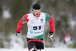 LUKYANENKA Yauheni, BLR, Long Distance Biathlon, 2015 IPC Nordic and Biathlon World Cup Finals, Surnadal, Norway