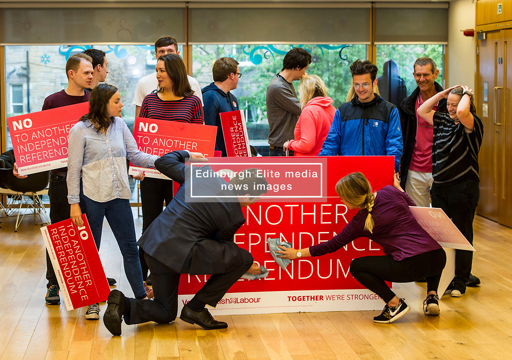 Pictured: <br /> <br /> Scottish Labour leader Kezia Dugdale joined candidate Ian Murray in Morningside, Edinburgh, today as he campaigned for election on Thursday. <br /> <br /> Ger Harley   EEm 6 June  2017