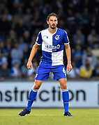 Ed Upson (6) of Bristol Rovers during the EFL Cup match between Bristol Rovers and Brighton and Hove Albion at the Memorial Stadium, Bristol, England on 27 August 2019.